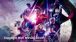 Avengers Theme - FREE COMIC BOOK DAY and Endgame Tribute - Viola Cover by Nish B
