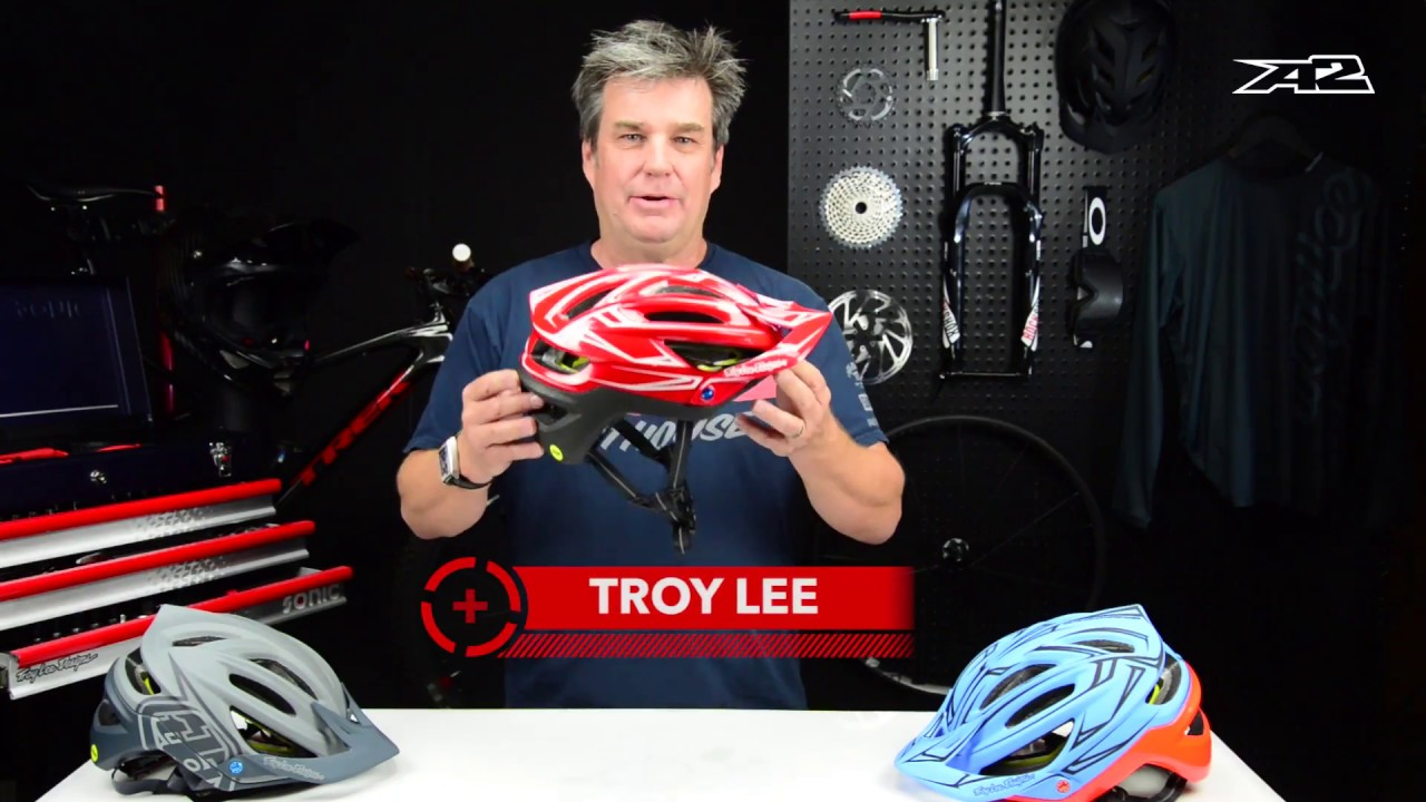 A2 Helmet With Troy Lee And His Son Max Lee Youtube