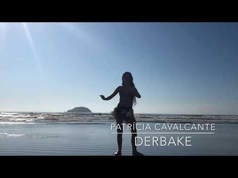 Dança do Ventre Na Praia Derbake Patrícia Cavalcante - Bellydance on beach
