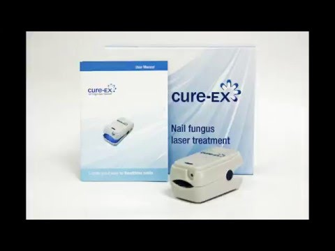 Cure Ex Nail Fungus Laser Device $210 with a Coupon on the Site