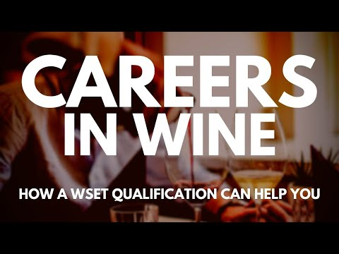 A CAREER In WINE - How To Get A Job In The Wine Industry