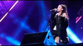 Ariana Grande cantó