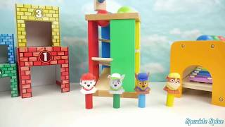 Best Learning Colors Video for Children   Paw Patrol Eats McDonalds Tayo Rescue Set Finger Family