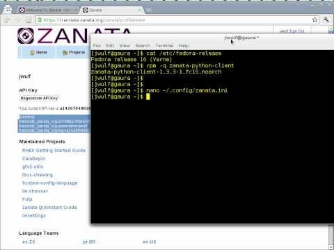 Zanata: Configure Python Client