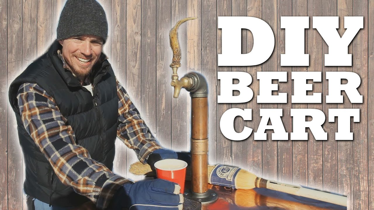 How To Make A Mobile Beer Cart   YouTube