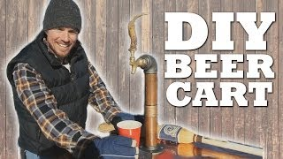 How To Make A Mobile Beer Cart