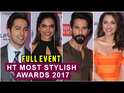 HT Most Stylish Awards 2017 FULL RED CARPET UNCUT Behind The Scene