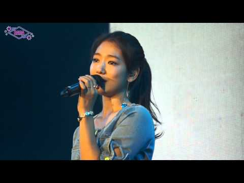 [FANCAM] Park Shin Hye - Story (Heirs OST) - Taiwan Fan Meeting