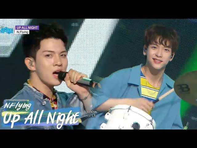 [Comeback Stage] N.Flying - Up All Night, 엔플라잉- Up All Night  Show Music core 20180519