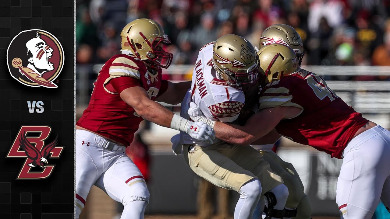 Florida State vs. Boston College football video highlights, score
