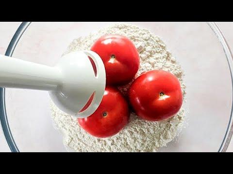 Download Mixer les tomates avec la farine pour 1 résultat étonnant ! Vous serez heureux !