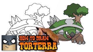 Pokemon | How to Draw Torterra (Art Tutorial)