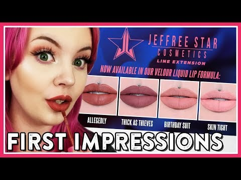*BRAND NEW* JEFFREE STAR LIQUID LIPSTICKS (ALLEGEDLY, THICK AS THIEVES, ETC)