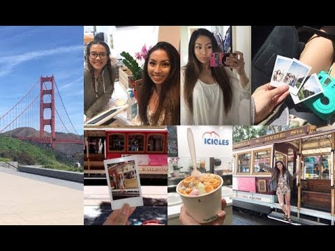 CALIFORNIA VLOG 2017!! TRAVEL + BEING A TOURIST in the BAY AREA! (pt. 1) // @ohdangdanii