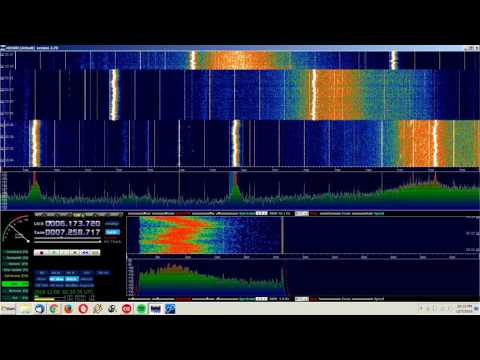 Tuning the Shortwave Bands on the SDR