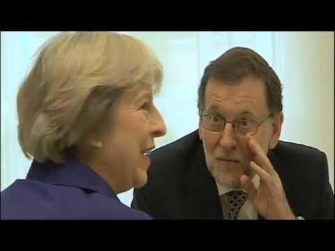 Rajoy meets May