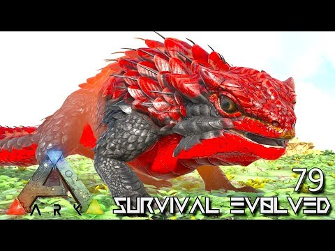 ARK: SURVIVAL EVOLVED - ALPHA THORNY DRAGON & DODOREXY E79 !!! ( ARK EXTINCTION CORE MODDED )