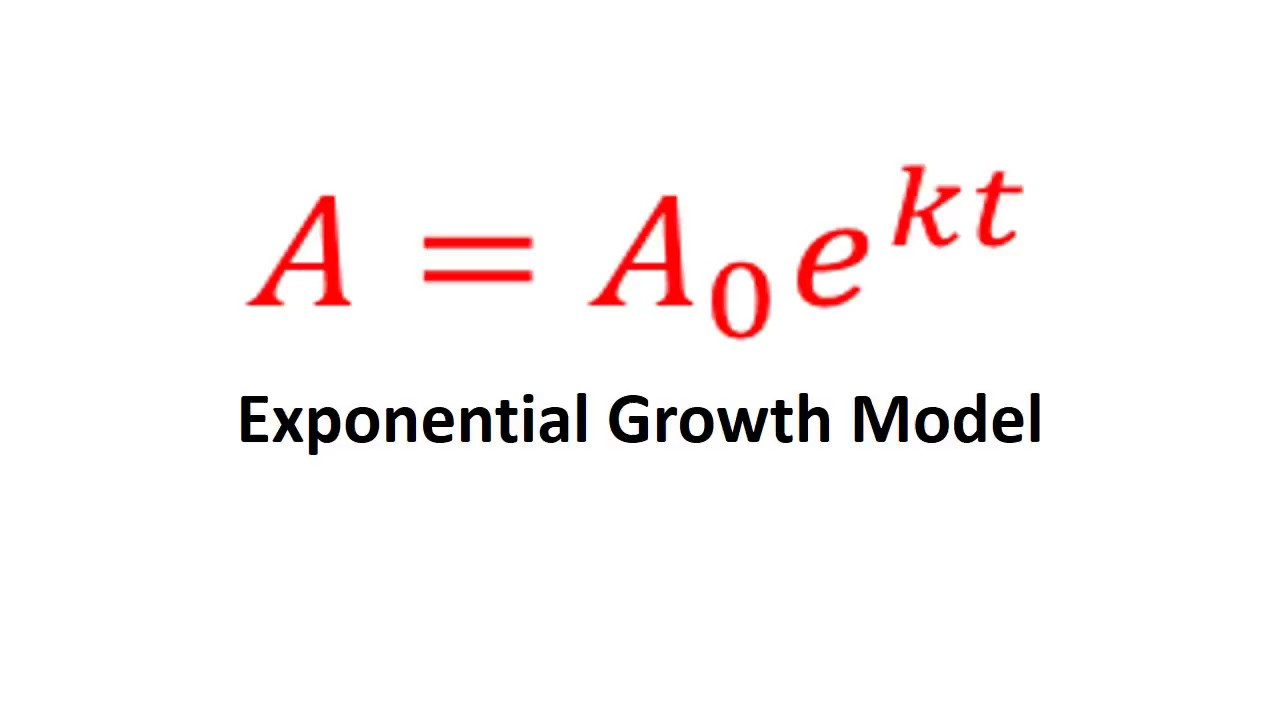College Algebra Final Test Review Exponential Growth Model