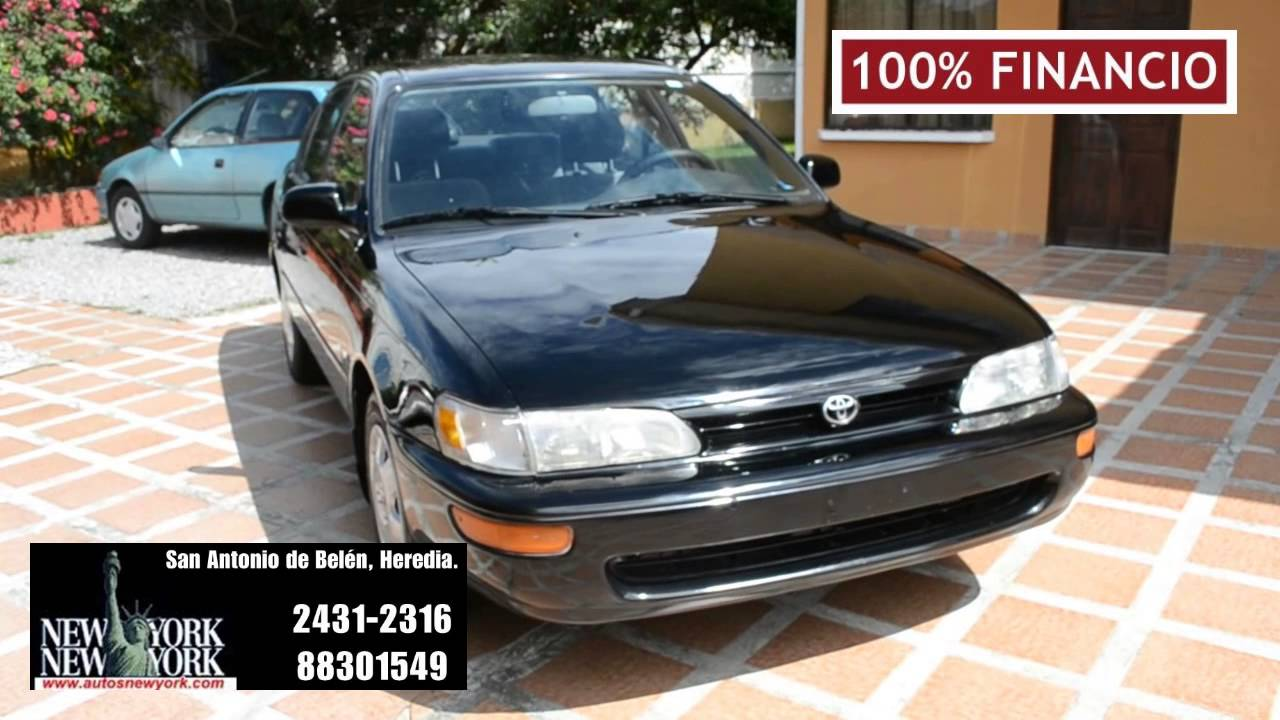 toyota corolla dx 1995 manual 100 financio youtube rh youtube com manual de usuario toyota corolla 1994 manual de usuario toyota corolla 1994