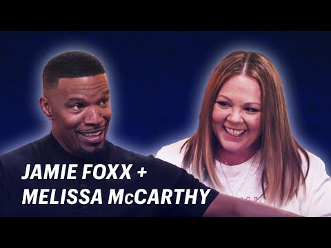 Jamie Foxx Talks Moms with Melissa McCarthy || OFF SCRIPT a Grey Goose Production