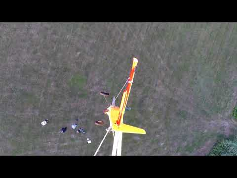 Drone crash when heavy lift
