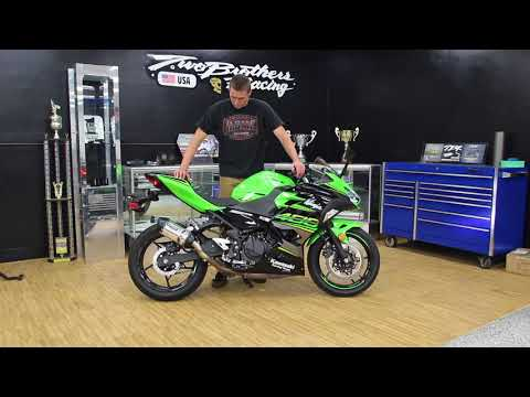 Two Brothers Racing - 2018 Ninja 400 Slip-On Exhaust System Sound Clip