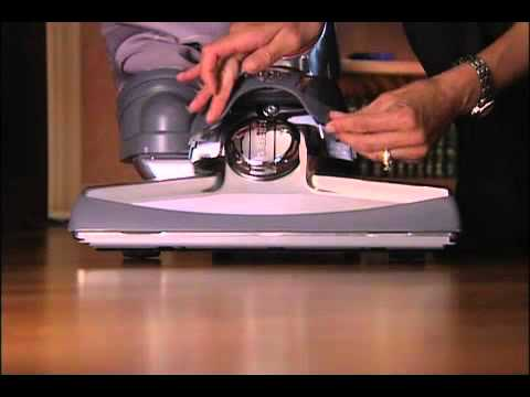 How To Use The Belt Lifter On The Kirby Sentria Vacuum Youtube