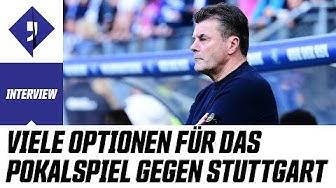 Im Pokal gegen Stuttgart die nächste Überraschung? | Interview mit HSV-Trainer Dieter Hecking