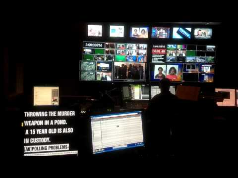 TV Station Master Control Room