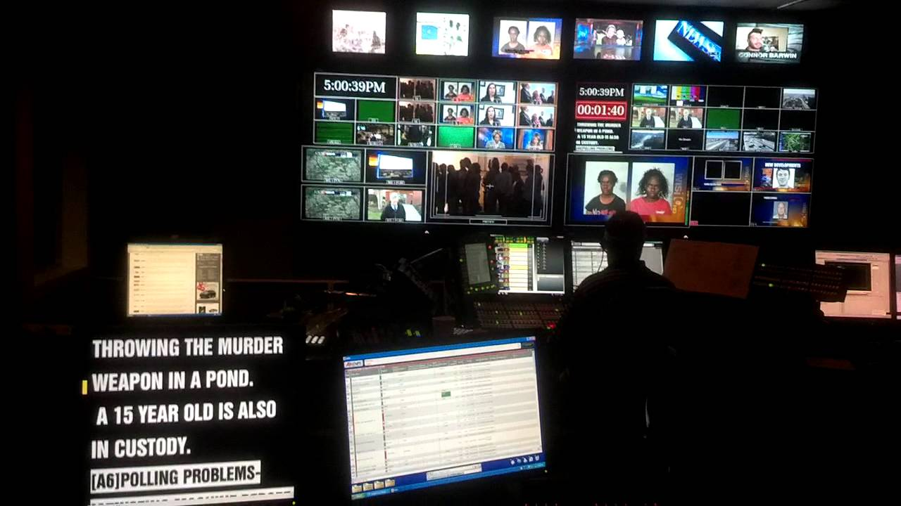 Tv Station Master Control Room Youtube
