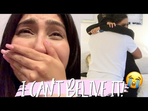 FINDING OUT I'M PREGNANT + TELLING MY HUSBAND! (extremely emotional)
