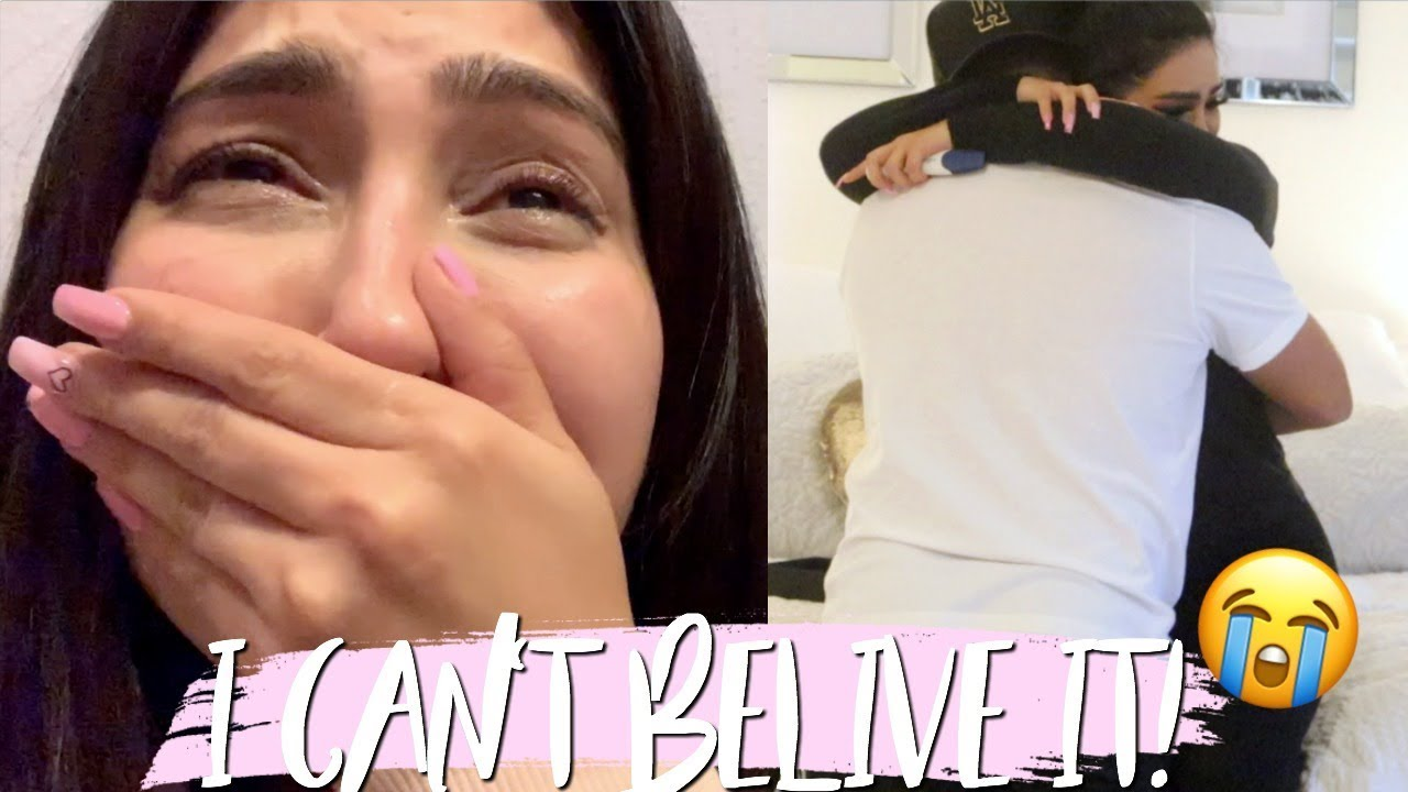 FINDING OUT I'M PREGNANT AND TELLING MY HUSBAND!  (extremely emotional)