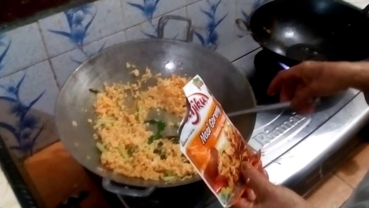 Cara Membuat Nasi Goreng Halal, Aman, Mudah, Cepat dan Enak - YouTube