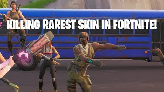 KILLING RAREST SKIN IN FORTNITE! (32 KILLS SQUADS!) (AERIAL ASSAULT TROOPER)