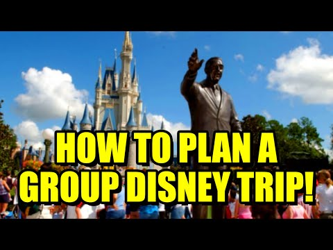 How to Plan a Disney World Vacation for Groups
