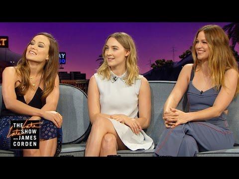 Superhero Talk w/ Melissa Benoist, Olivia Wilde & Saoirse Ronan