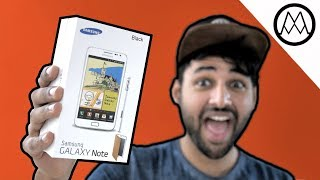 Samsung Galaxy Note UNBOXING!