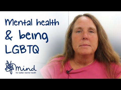 Mental health and being LGBTQ | Christine 's #mentalhealthselfie