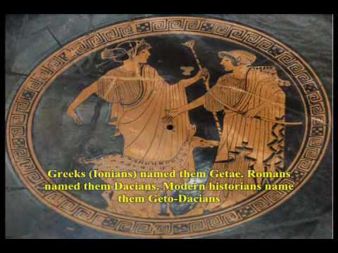 Ancient Dacia (country of Getae-Dacians subgroup of Thracians) General Presentation - English