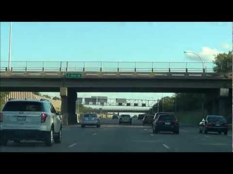 Urban Driving: From Downtown Minneapolis via I-35W South
