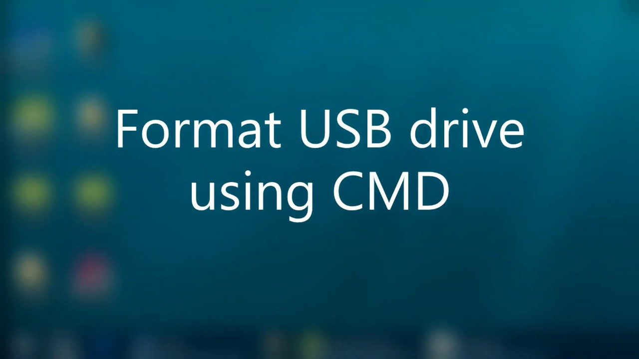 Windows Failed to Format USB Flash Drive? Why Not Format USB Drive Using  Diskpart
