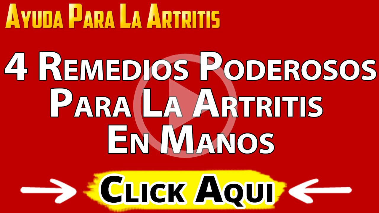 ungüento para manos con artritis