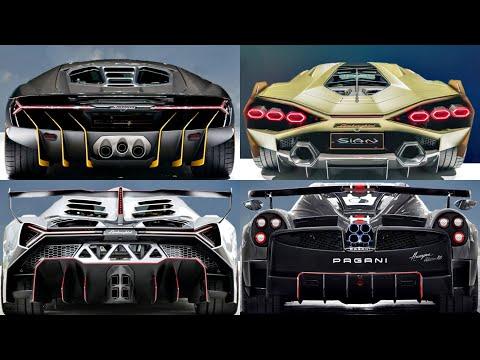 Top 10 Beautiful Ultra Hypercars (2020- 2021) lamborghini sian, pagani huayra bc, gma t50. (review)