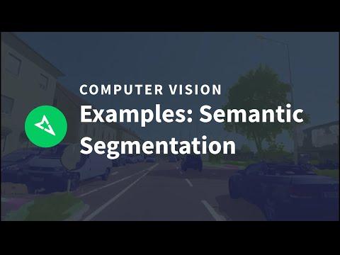 Semantic segmentation examples