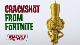 Crackshot from Fortnite season 7 trailer - 3d printed