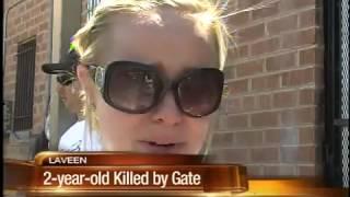 Freak accident  kills 2-year-old Laveen boy