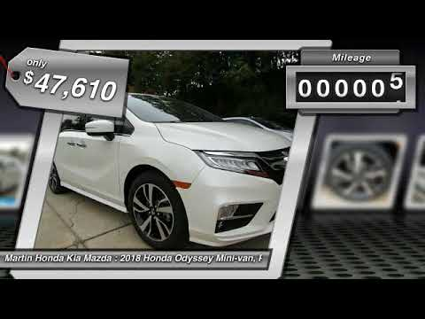 2018 Honda Odyssey Martin Honda Kia Mazda H183706