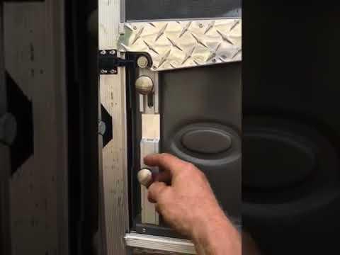 Airstream screen door latch redesigned
