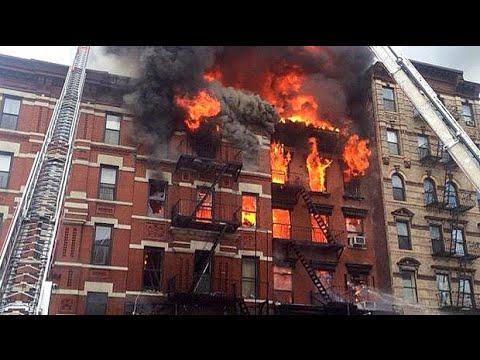 Watch: Manhattan building explodes