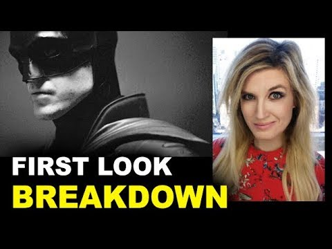 The Batman First Look - Robert Pattinson 2021